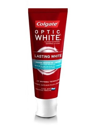 خمیر دندان Colgate مدل Optic White