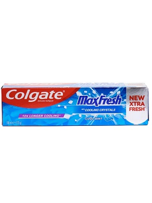خمیر دندان Colgate مدل Max Fresh Cool Mint