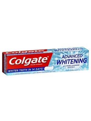 خمیر دندان Colgate مدل Advanced White