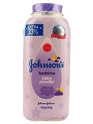 پودر بچه Johnsons مدل Bed Time