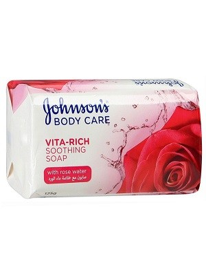 صابون Johnsons مدل Rose Water بسته 6 عددی